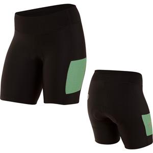 Women's, Select Escape Short, Black/Green Spruce Herringbone, Size xl