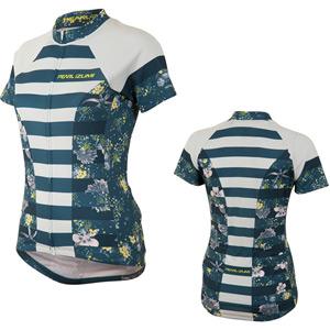 Women's, Sel Escape Ltd SS Fz Jersey, Muse Blue Steel, Size lg