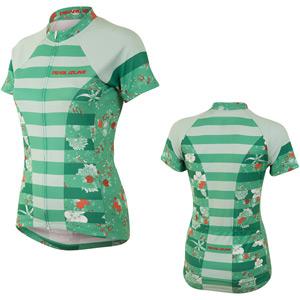 Women's, Sel Escape Ltd SS Fz Jersey, Muse Green Spruce, Size sm