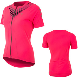 Women's, Select Pursuit SS Jersey, Screaming Pink Whirl, Size sm