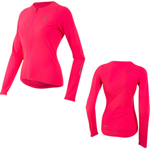 Women's, Select Pursuit LS Jersey, Screaming Pink, Size xs