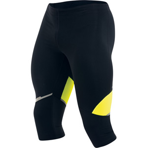 Men's, Fly 3Qtr Tight, Black/Screaming Yellow, Size sm
