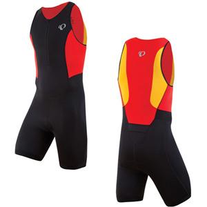 Men's, Select Tri Suit, Black/Firey Red, size s