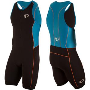Men's, Elite Pursuit Tri Suit, Black / Bel Air Blue, Size lg