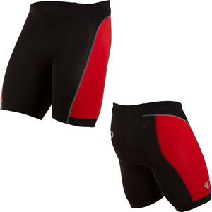 Men's, Select Pursuit Tri Short, Black/True Red, Size md
