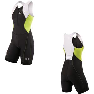 Women's Select Tri Suit, Black / Lime, Size XS