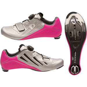Women's, Elite Road V5, Silver / Pink Glo, Size 43.0