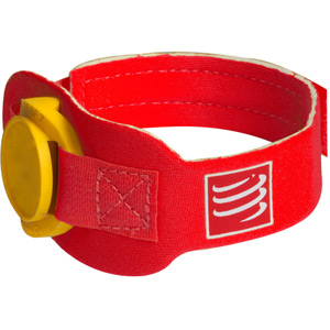 Timing Chip Strap, Red, One Size