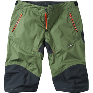 Winter Storm men's waterproof shorts, olive green medium