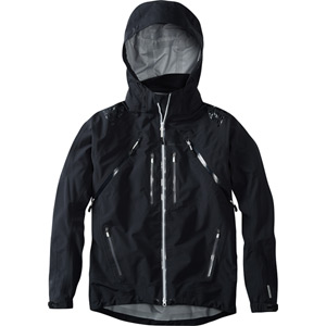 Winter Storm men's 3-Layer waterproof jacket, black medium