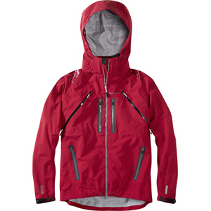 Winter Storm men's 3-Layer waterproof jacket, blood red medium