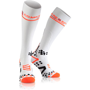 Full Socks V2.1 Compression, White, Size 2L