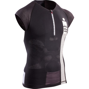 Compressport TR3 Aero Top - Ironman Smart Black L black