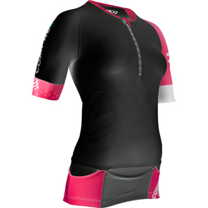 Compressport Pro Racing Triathlon TR3 Women's Aero Top - Black - Size L black
