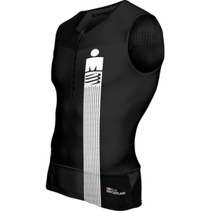 Compressport TR3 Tank Top - Ironman Smart Black L black