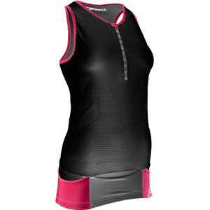 Compressport Pro Racing Triathlon TR3 Women's Tank Top - Black - Size XS black