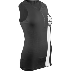 Compressport TR3 Tank Top W - Ironman Smart Black XS black
