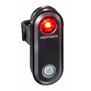 Kryptonite Avenue R-30 USB 1 LED Rear black