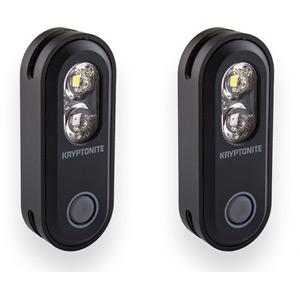 Kryptonite Avenue F-70/R-35 Dual Set USB 2-in-1 Set black