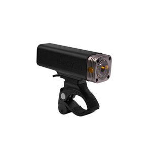 F-400 lumen LED front light, supplied with micro USB cable