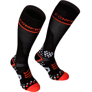 Full Socks V2 Compression, Black, Size 5L
