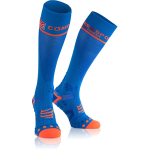 Full Socks V2.1 Compression, Blue, Size 1M