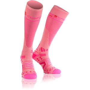 Full Socks V2.1 Compression, Pink, Size 2L