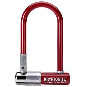 Kryptonite KryptoLok Series 2 Mini - with FlexFrame U-bracket - Red red