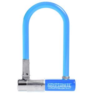 Kryptonite KryptoLok Series 2 Mini - with FlexFrame U-bracket - Blue blue