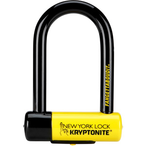 Kryptonite New York Fahgettaboudit lock blk/yell