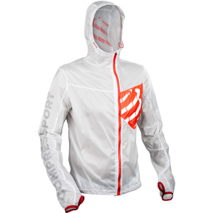 Trail Hurricane Jacket White Size M