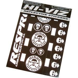 Hi-Viz urban survival sticker kit