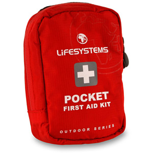 Lifesystems Pocket First Aid Kit red