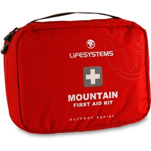 Lifesystems Mountain First Aid Kit red