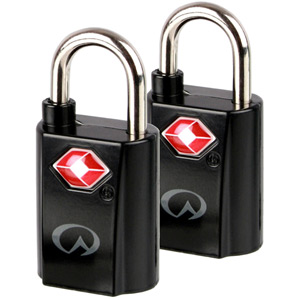 TSA Mini Padlocks x 2