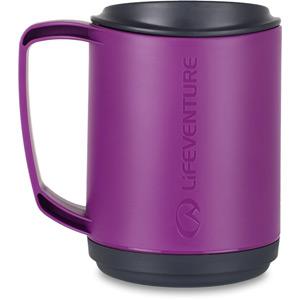 Lifeventure Ellipse Insulated Mug - Purple purple