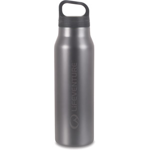 Lifeventure TiV Vacuum Bottle - Graphite grey