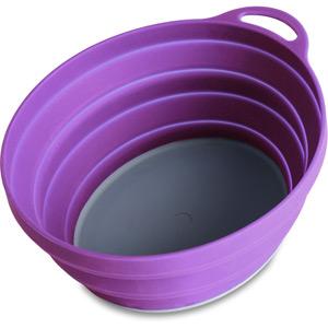 Lifeventure Silicone Ellipse Bowl - Purple purple