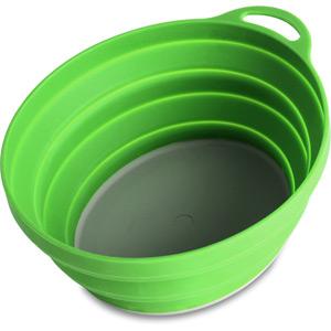 Lifeventure Silicone Ellipse Bowl - Green green