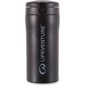 Lifeventure Flip-Top Thermal Mug - Black black