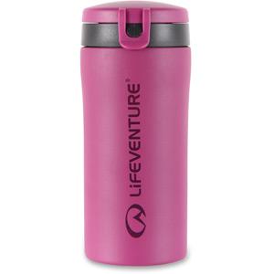 Lifeventure Flip-Top Thermal Mug - Pink pink