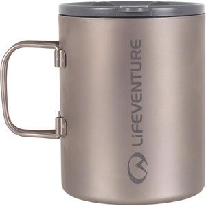 Lifeventure Titanium Insulated Mug mt sr/tit