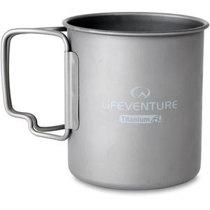 Lifeventure Titanium Mug mt sr/tit