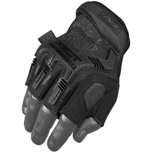 Mechanix Wear M-Pact Fingerless Gloves Black Medium black