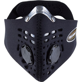 Techno mask black large