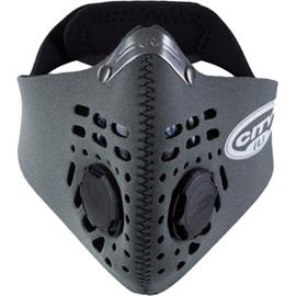 City mask grey medium