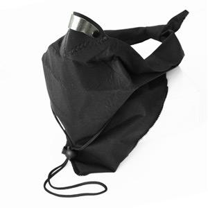 Bandit scarf black