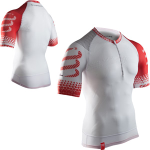 Pro Racing Trail SS Top, White, Size Large