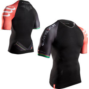 Pro Racing Triathlon SS Top, Black, Size X-Small
