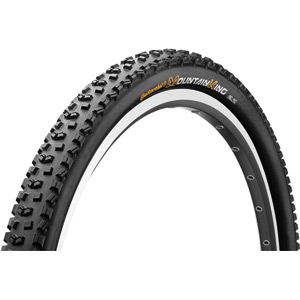 "Continental Mountain King II RaceSport 26 x 2.2"" Black Chili Folding Tyre black"